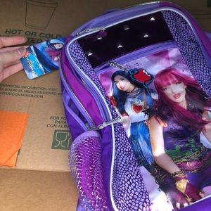 Descendants 2 book bag